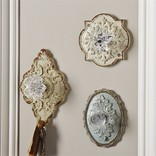 Two's Company Antique Wall Hooks assorted colors - 51417-20