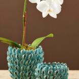 Two's Company Turquoise Decorative Vase (S) - CYC013-TUS2