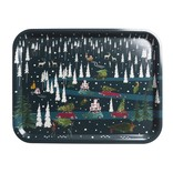 Sophie Allport Printed Tray Home for Christmas LG
