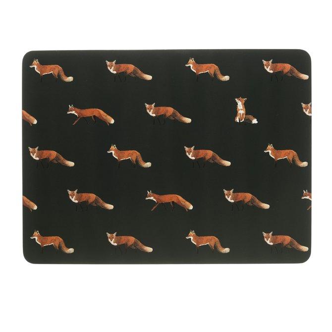 Sophie Allport Placemats (set of 4) Foxes