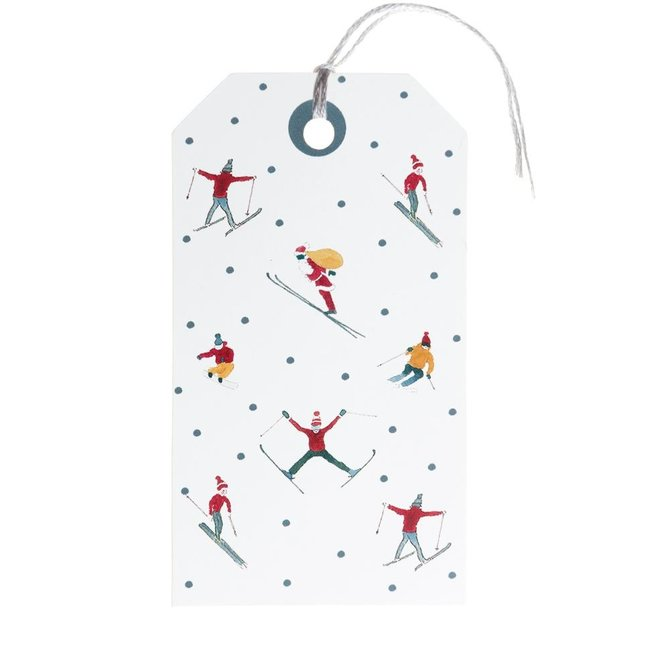 Sophie Allport Gift Tag (set of 8) Skiing