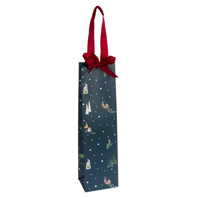 Sophie Allport Gift Bag Bottle Home for Christmas