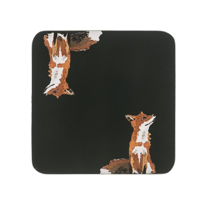 Sophie Allport Coasters (set of 4) Foxes