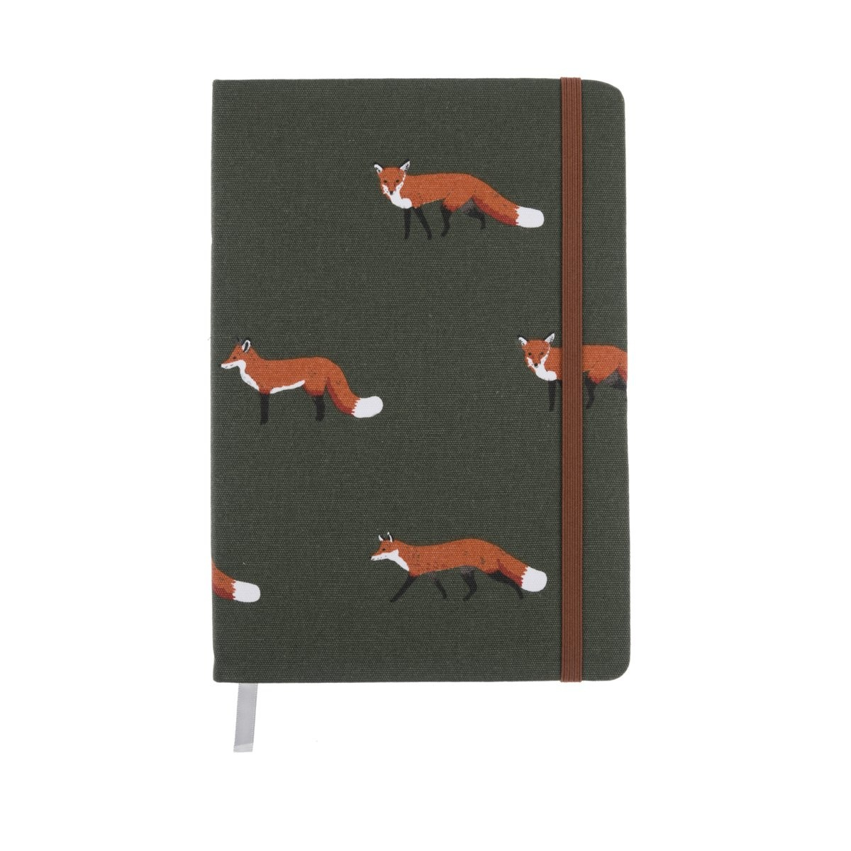 Sophie Allport Fabric Notebook Foxes