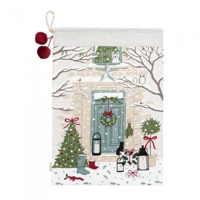 Sophie Allport Christmas Sack Home For Christmas
