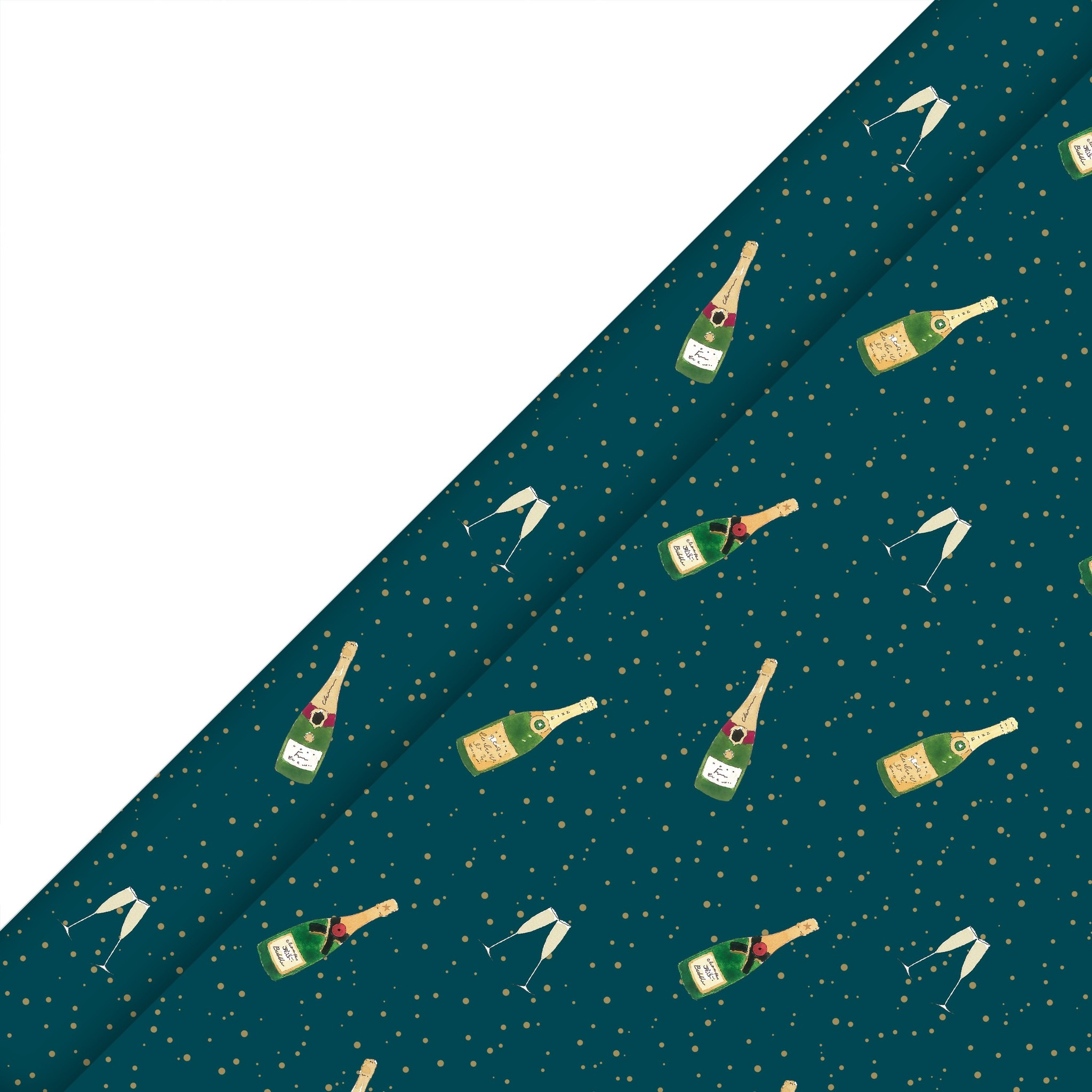 Sophie Allport Bubbles & Fizz Wrapping Paper