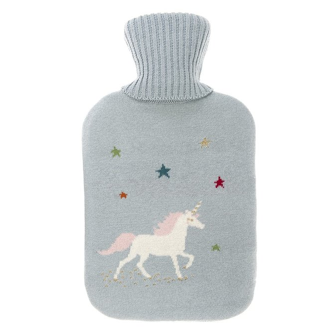 Sophie Allport Knitted Unicorn Hot Water Bottle