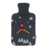 Sophie Allport Knitted Skiing Hot Water Bottle