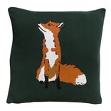 Sophie Allport Fox Knitted Cushion