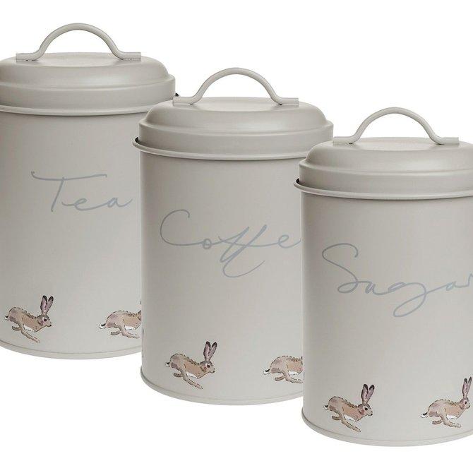Sophie Allport Hare Storage Tin (set of 3)