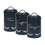 Sophie Allport Bees Storage Tin (set of 3)