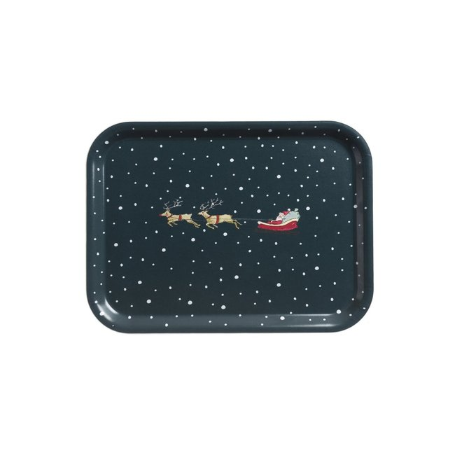 Sophie Allport Home For Christmas Tray Small