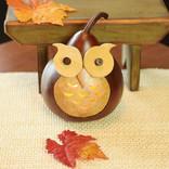 Meadowbrook Gourds Professor Owl Small Lit