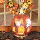 Meadowbrook Gourds Haunted Boo House Large Lit