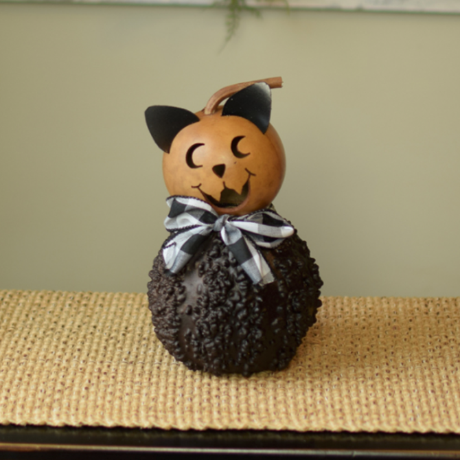 Meadowbrook Gourds Binx The Cat