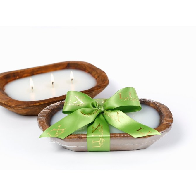 Lux Fragrances Holiday 3-Wick Dough Bowl