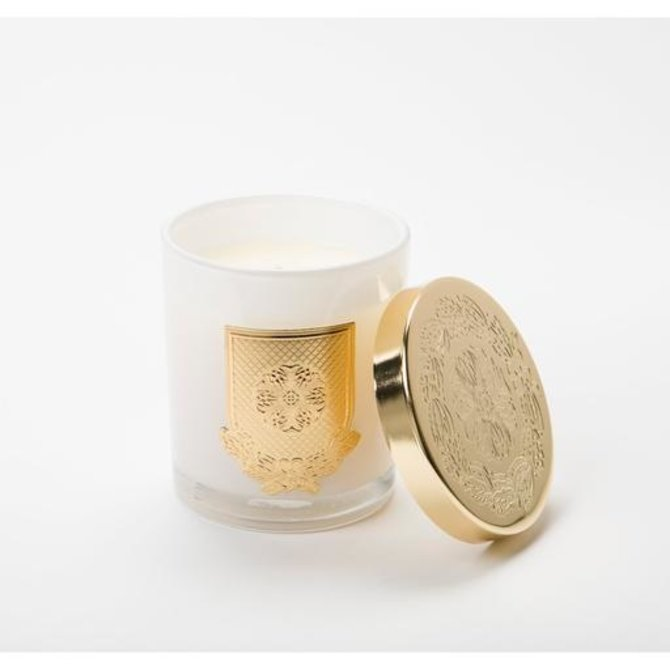 Lux Fragrances White Christmas 10oz Lidded Candle