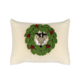 Melange Peekaboo Deer Pillow