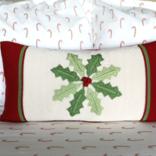 Melange Holly Pinwheel Pillow  - 10 x 20