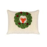 Melange Peekaboo Fox Pillow