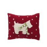 Melange Mini westie dog pillow