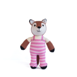 Melange Fox in dungarees 12' tall