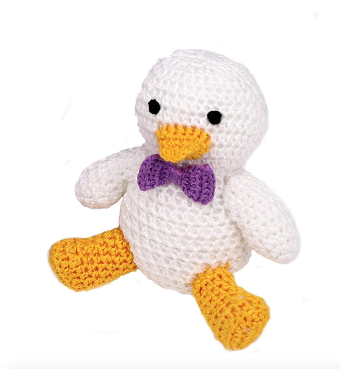 Melange Crochet Duckling - Boy