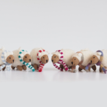 Melange Sheep in scarf ornament