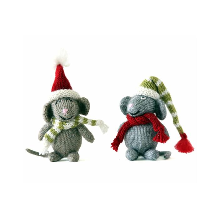 Melange Mice ornament in accessories