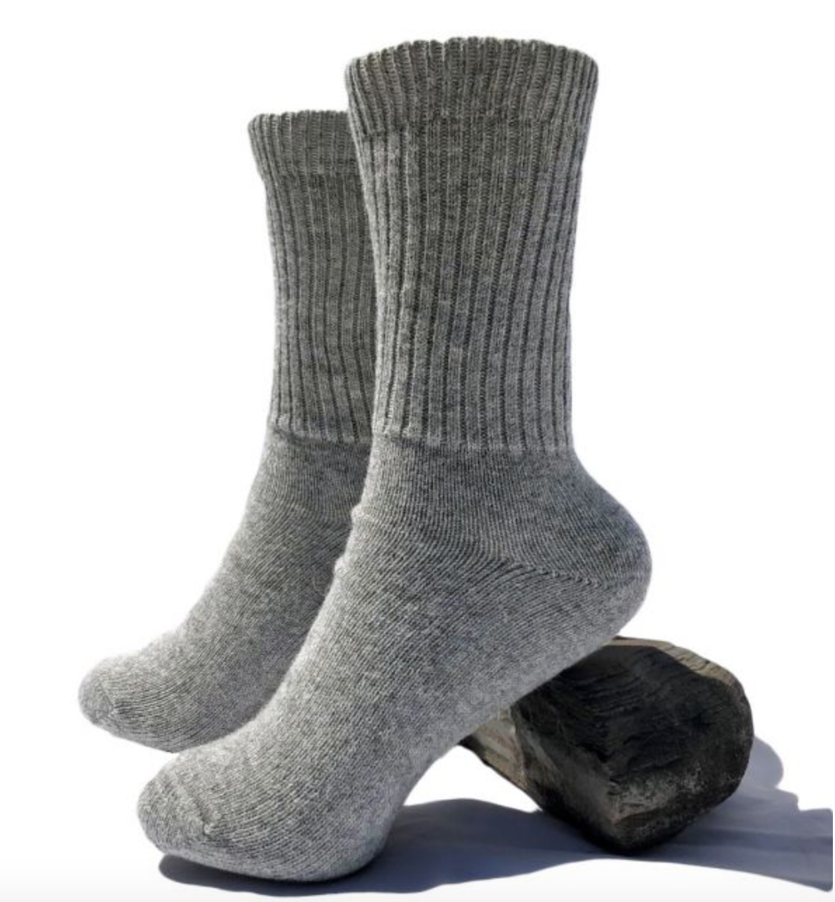 Peruvian Link Alpaca Thera Copper Socks Silver L