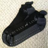Peruvian Link Footie Alpaca Socks L