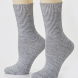 Peruvian Link Highlander Alpaca Sock Silver L/XL