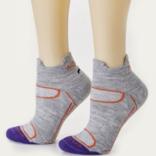 Peruvian Link Activewear Alpaca Socks Silver L/XL