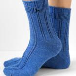 Peruvian Link Alpaca Bed Sock Washed Denim S/M