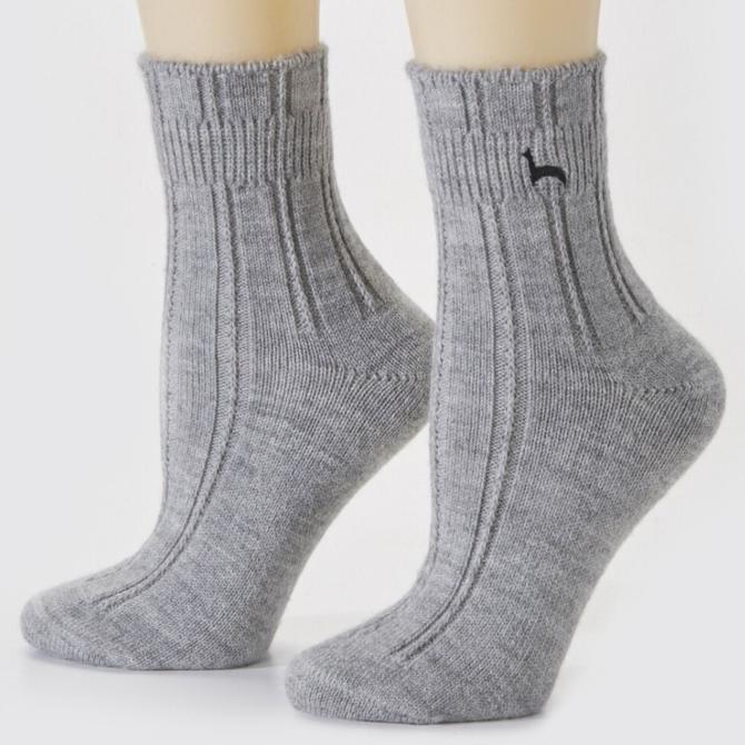 Peruvian Link Alpaca Bed Sock Silver S/M