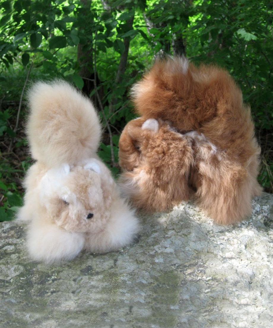 Peruvian Link Squirrel 100% Baby Alpaca