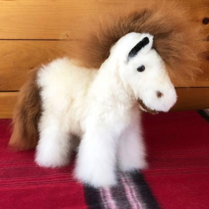 Peruvian Link Horse 100% Baby Alpaca