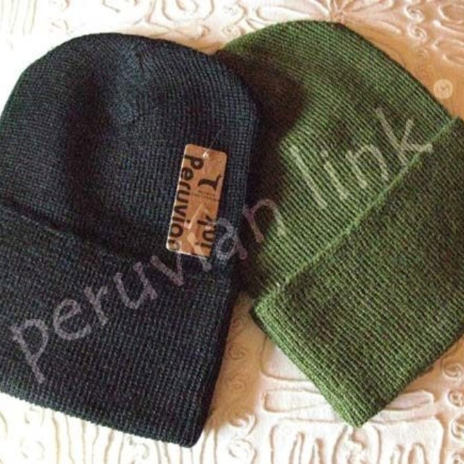 Peruvian Link Liner Alpaca Hat