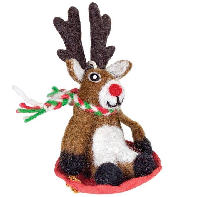dZi Handmade Dasher Jr. Ornament
