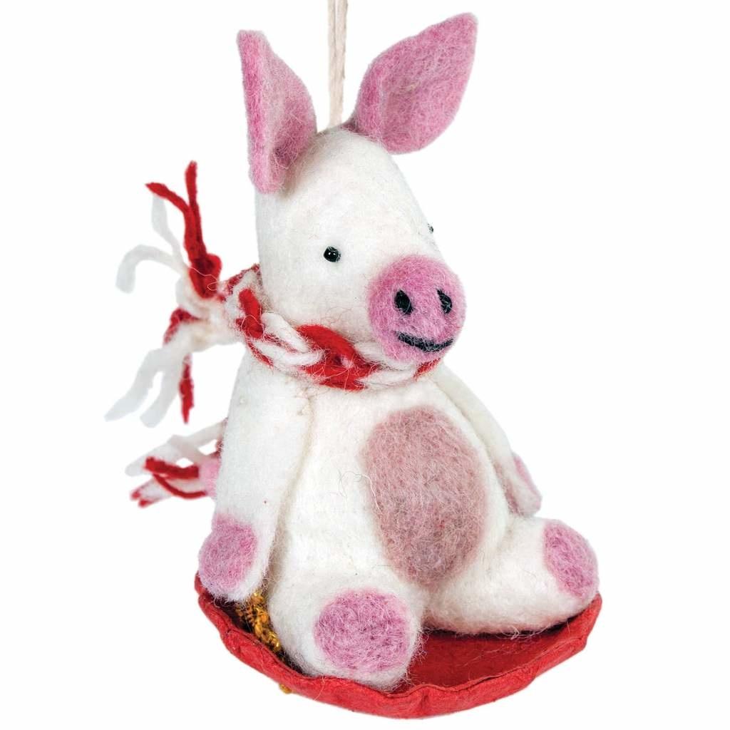 dZi Handmade Piggles Ornament