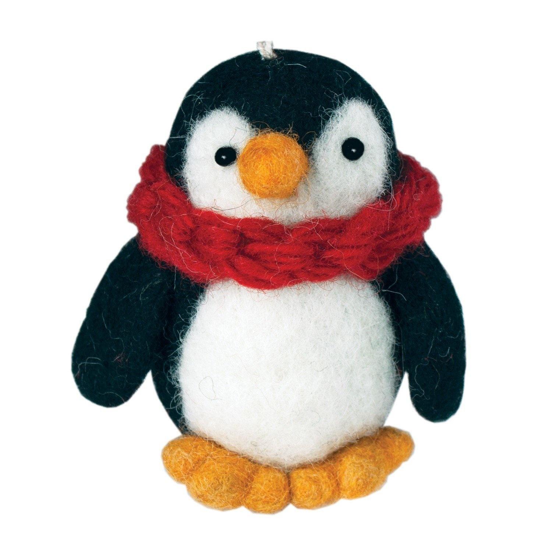 dZi Handmade Pokey Penguin Ornament