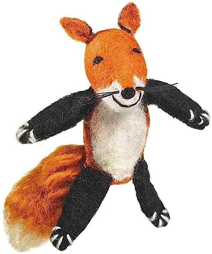 dZi Handmade Fox Ornament