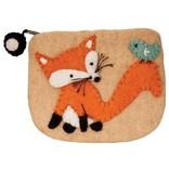 dZi Handmade Fox Coin Purse