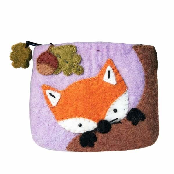 dZi Handmade Baby Fox Coin Purse