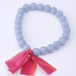 Kui Co. Chunky Stone Bracelet - Periwinkle Agate 1