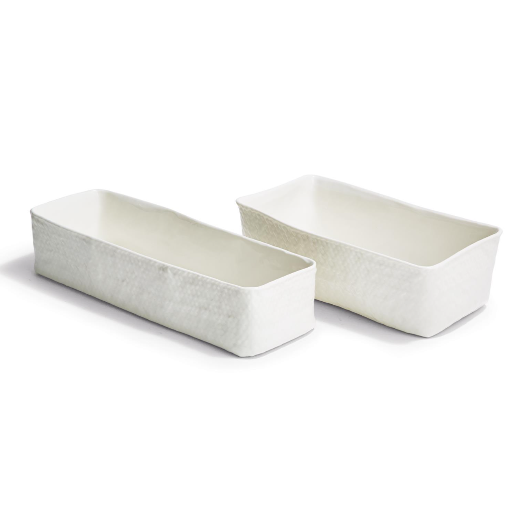 Two's Company Basketweave - Oblong