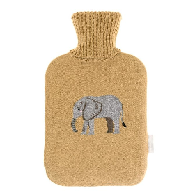 Sophie Allport Knitted Elephant Hot Water Bottle