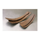 petermans boards and bowls Rustic Salad Tossers- Black Walnut