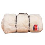 Pretty Rugged White Faux Fur Original Blanket
