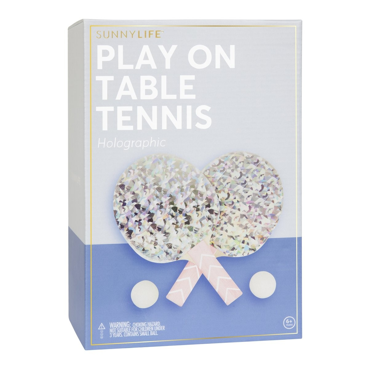 Sunny Life Play On Table Tennis Holographic